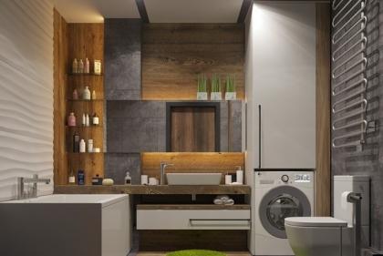 Nguyên tắc thiết kế, trang trí phòng tắm tiện nghi
