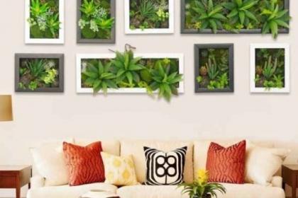 Tranh treo tường 3D - xu hướng mới cho ngôi nhà thêm mát mẻ mùa Hè