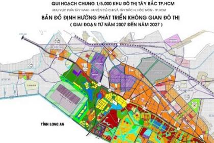 Điều chỉnh quy hoạch Khu đô thị Tây Bắc TP.HCM