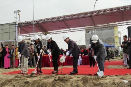 Hải Phòng: Động thổ xây dựng hạ tầng kỹ thuật Khu tái định cư rộng hơn 40.000m2
