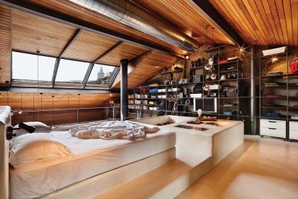 Phòng ngủ với nội thất gỗ - sức cuốn hút từ vẻ mộc mạc, ấm cúng