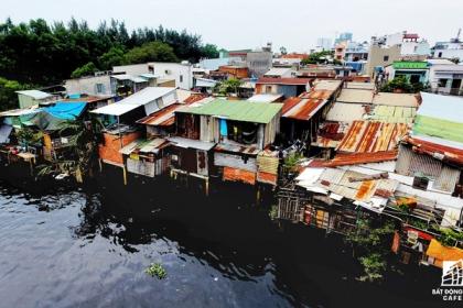 Tp.HCM di dời 10.000 căn nhà ven kênh rạch đến 2020, tạo quỹ đất phát triển đô thị hiện đại