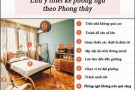 8 điều tối kỵ trong phòng ngủ