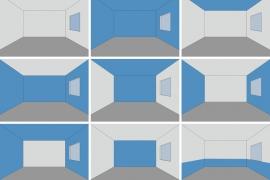 Sử dụng màu sắc thay đổi cảm nhận không gian nội thất như thế nào