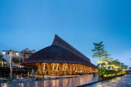 Nhà hàng tre Everland Quảng Bình | BambuBuild