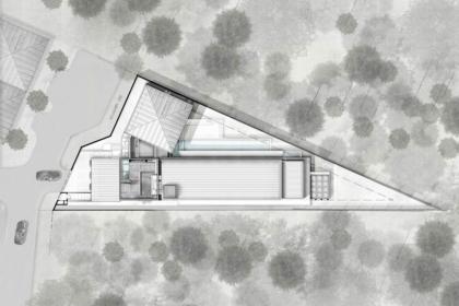 Nhà 24 – Biệt thự trên đất hình tam giác