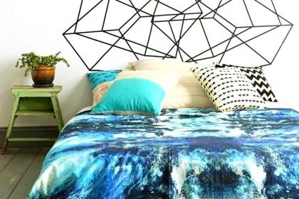 6 cách trang trí giường ngủ không có đầu giường