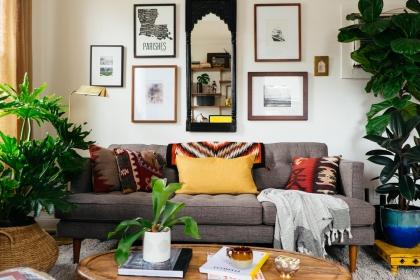 Khám phá những mẫu phòng khách vừa xanh vừa đẹp