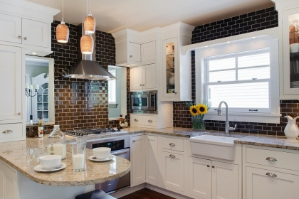 Những mẫu gạch ốp giúp căn bếp của bạn đẹp như ở nhà hàng sang trọng